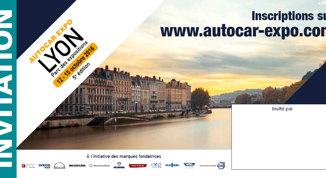 QOS au salon AutoCar Expo – Lyon 2016