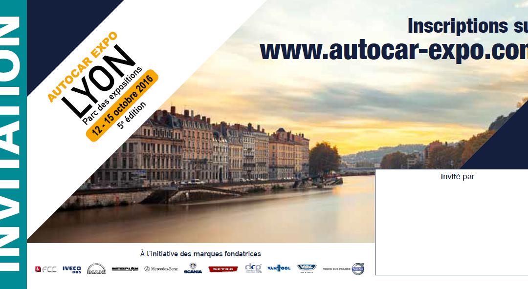 QOS au salon AutoCar Expo – Lyon 2016