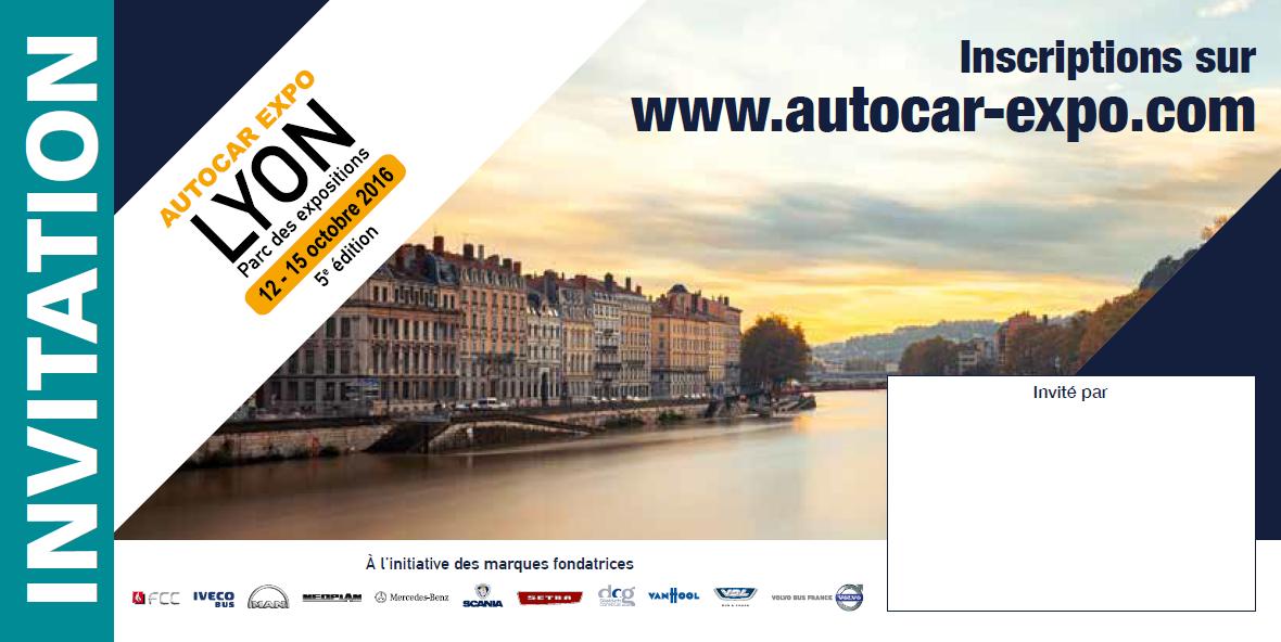 invitation autocar expo