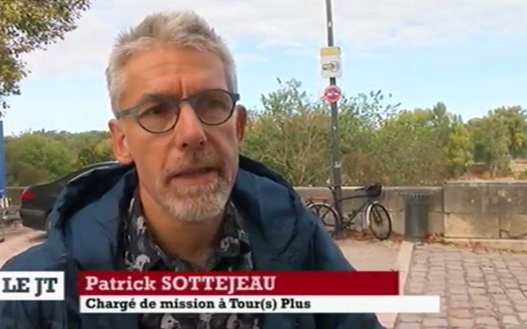 TV Tours Val de Loire parle des bornes WIFI installées par QOS Telecom