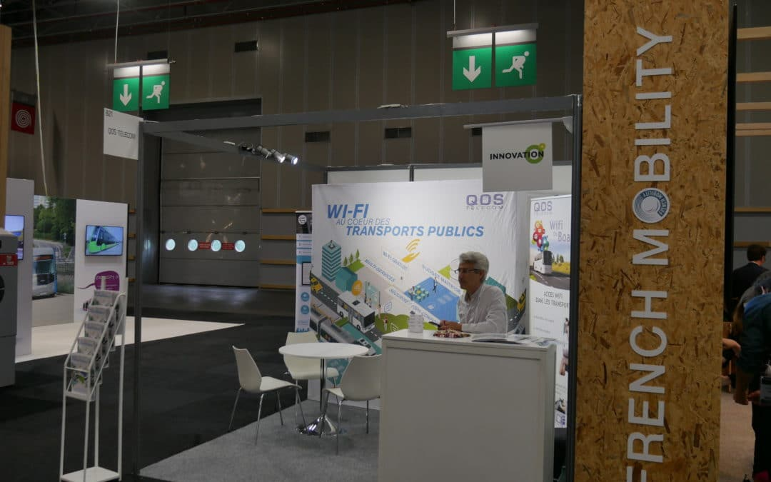 QOS Telecom en direct de Transports Publics 2018