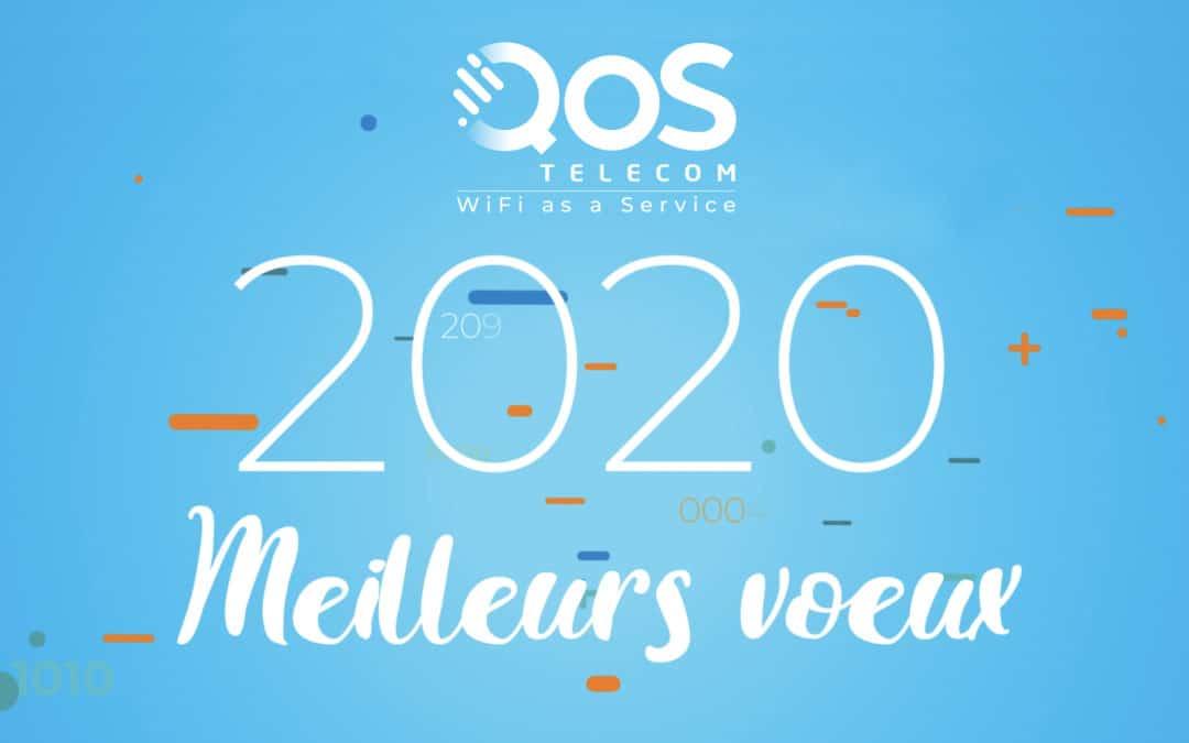 Qos Telecom vous souhaite ses meilleurs voeux 2020