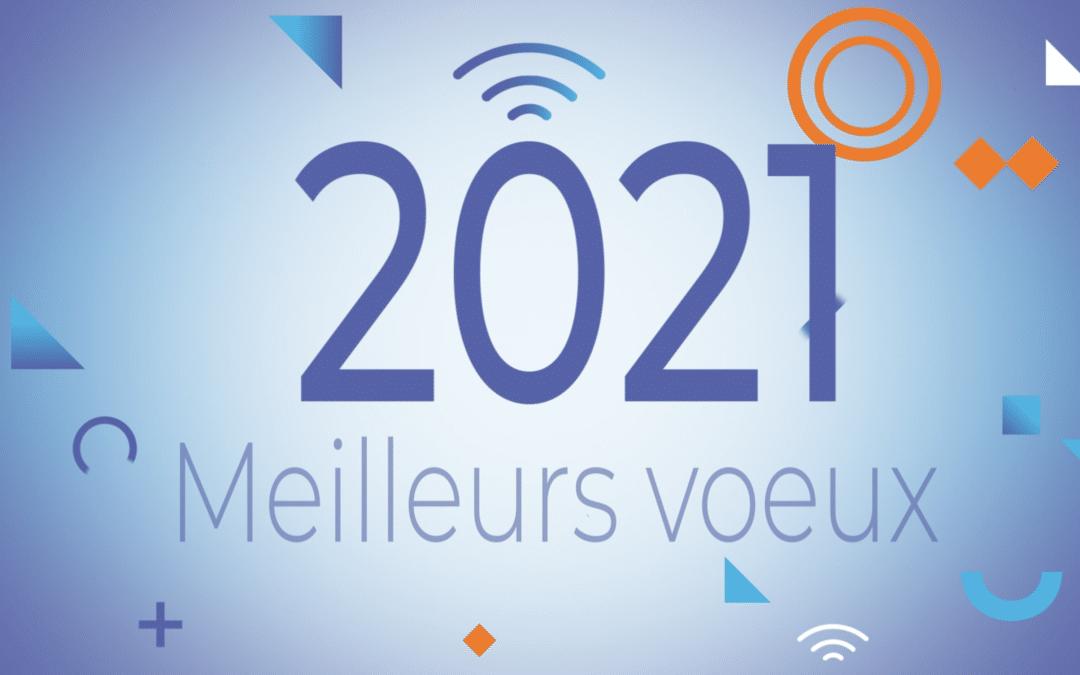 Qos Telecom vous présente ses meilleurs voeux 2021